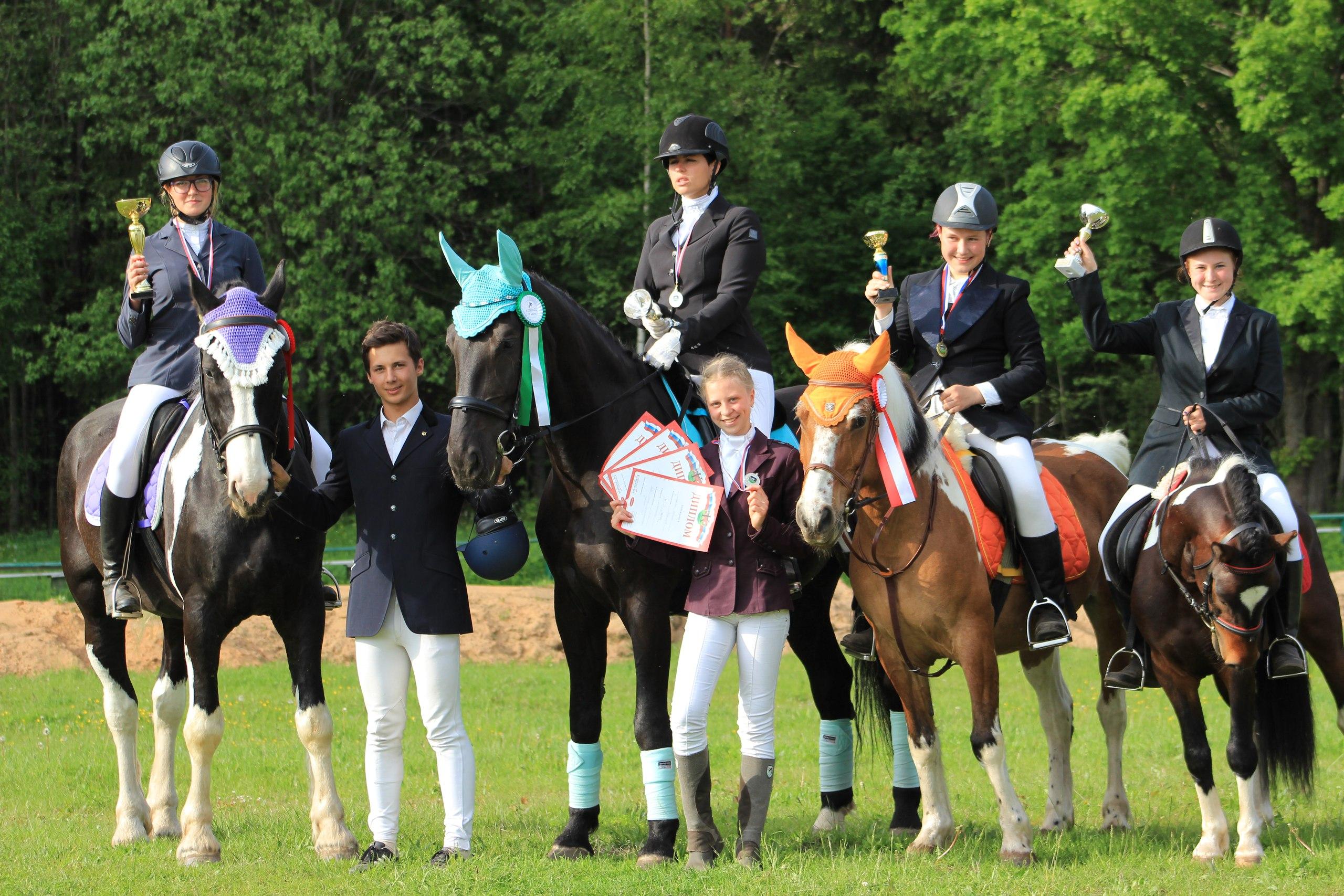 2 этап открытых конных игр Лужского района